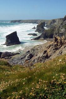 Coast of Cornwall, Bedruthan Steps 4 by Sabine Radtke
