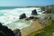 Coast of Cornwall, Bedruthan Steps 3 by Sabine Radtke