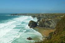 Coast of Cornwall, Bedruthan Steps 2 von Sabine Radtke
