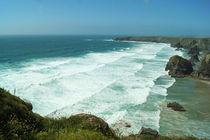 Coast of Cornwall, Bedruthan Steps 1 by Sabine Radtke