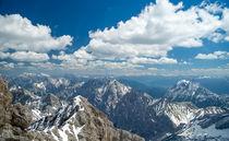 Blick über die Alpen by Stephan Gehrlein