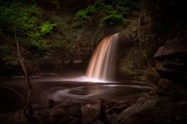 Lady Falls Sgwd Gwladus waterfall by Leighton Collins