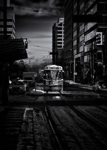 The 512 St. Clair Streetcar Toronto Canada by Brian Carson