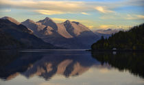 Reflections of the Five Sisters of Kintail by chris-drabble
