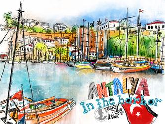 Antalya-im-hafen
