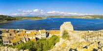 "Panorama vom ""Etang de Gruissan"" gesehen vom Tour Barberousse by Thomas Klee"