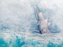 Blu ship by Mansur Zamani