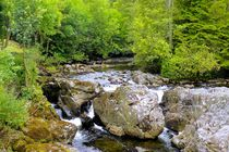 River Llugwy by gscheffbuch