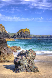 Lion Rock from Kynance Cove von Malc McHugh
