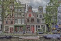 Amsterdam Egelantiersgracht by Peter Bartelings