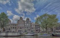 Amsterdam, Prinsencanal by Peter Bartelings