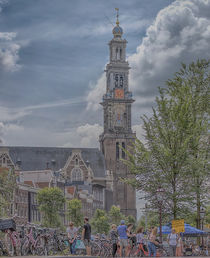 Amsterdam Westerchurch by Peter Bartelings
