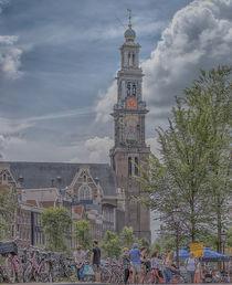 Amsterdam Westerchurch von Peter Bartelings