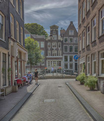 Amsterdam, Lauriercanal by Peter Bartelings
