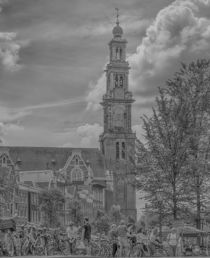 Amsterdam Westerkerk by Peter Bartelings