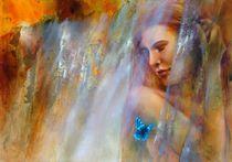 Laura mit Schmetterling von Annette Schmucker