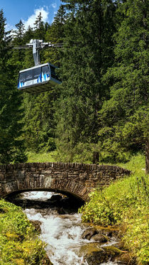Cable car in Kasprowy Wierch von Tomas Gregor