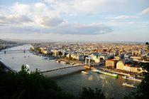 Budapest landscape by Anna Zamorska
