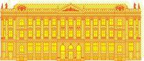 Big House yellow von Sabine Haag