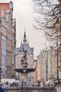 Neptun in Gdansk by Anna Zamorska