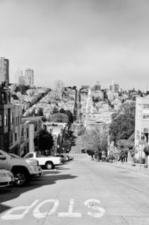 San Francisco streets by Anna Zamorska
