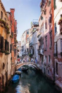 Street in Venice by Elena Oglezneva