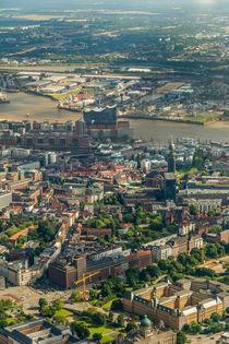 Hamburg von Oben View#4 by photobiahamburg