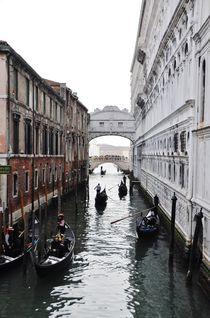 Ponte dei Sospiri by Anna Zamorska