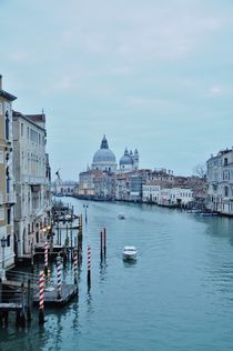 View at Grand Canal by Anna Zamorska