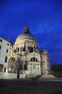 Basilica Santa Maria della Salute by Anna Zamorska