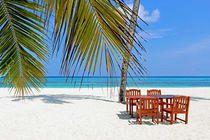 Malediven Insel Kuredu von Friedrich Mizerovsky