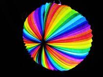 Regenbogen Laterne by assy