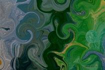 Grün-grauer Wirbel by art-dellas
