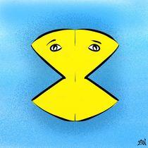 Siamese Twin Pac-Man von Vincent J. Newman