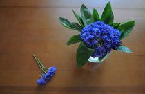 bouquet of cornflowers by Natalia Akimova
