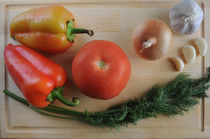 vegetables by Natalia Akimova