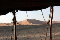 Beduinenzelt der Sahara von Martina  Gsöls