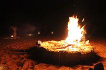 Lagerfeuer der Wüste von Martina  Gsöls