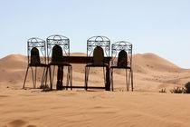 Ausblick in die Sahara von Martina  Gsöls