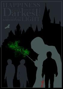Harry Potter - Minimalist Quote Poster von mequem design