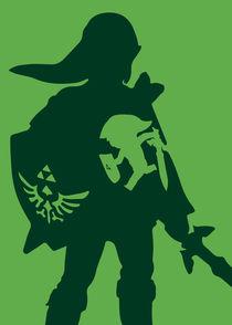 The legend of zelda - Minimalist Poster von mequem design