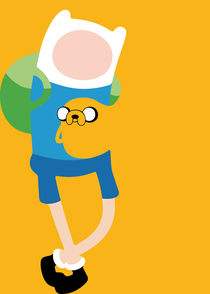 Adventure Time - Minimalist Quote Poster by mequem design