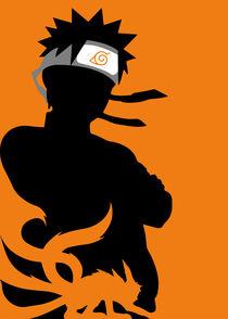 Naruto - Minimalist Poster von mequem design