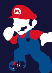 Super Mario Bros - Minimalist Poster von mequem design