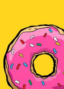 Homer Donuts - Minimalist Serie von mequem design