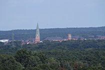 Lüneburg von oben: St. Johanniskirche und der Wasserturm; 07.08.2017 von Anja  Bagunk