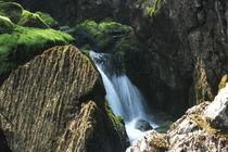 Waterfall slow motion von Martina  Gsöls