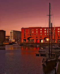 Albert Dock, Liverpool by John Wain