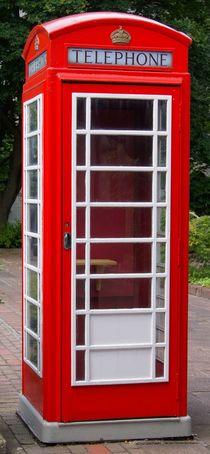Englische Telefonzelle  von kattobello