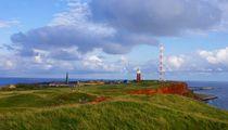 Grünes Land auf Helgoland von kattobello